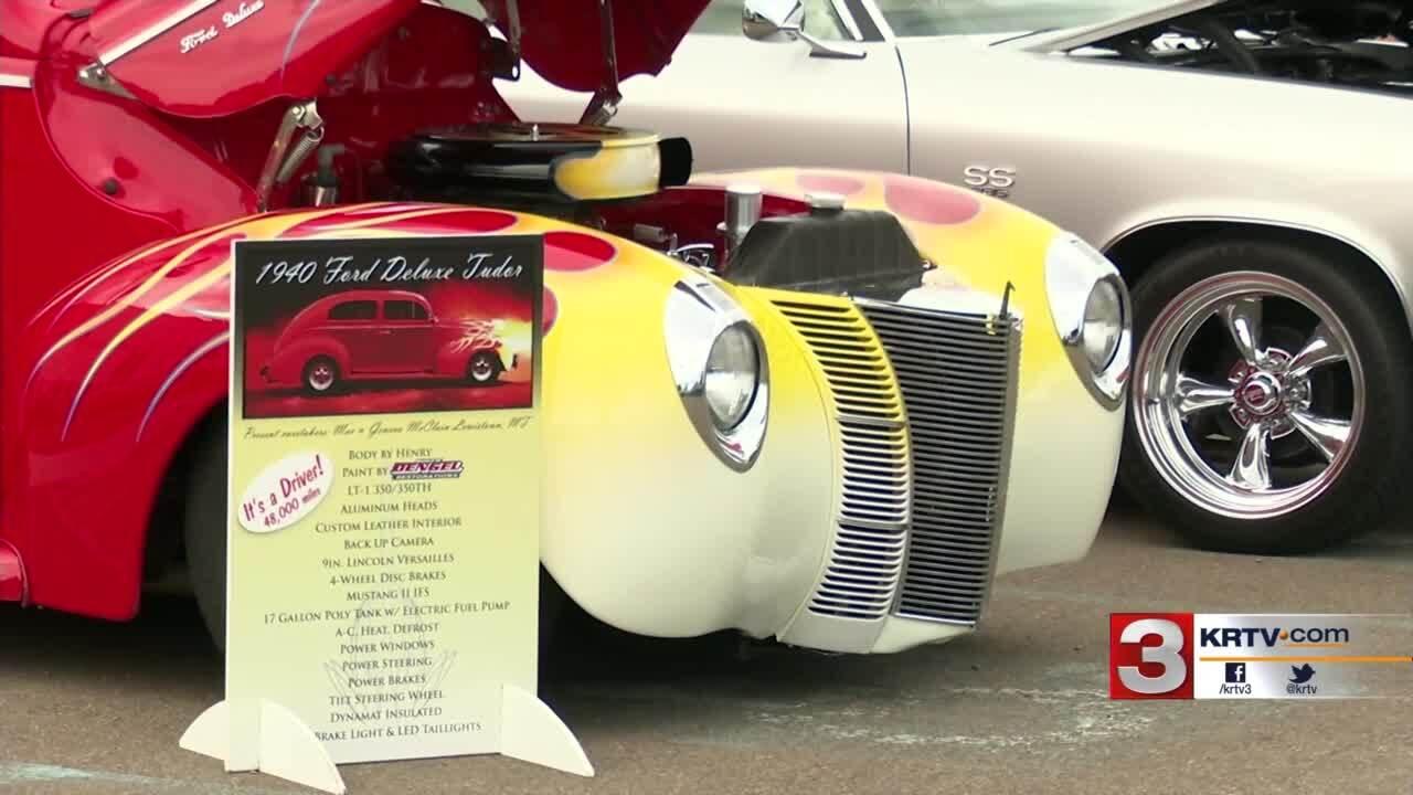 """Men & Machines Car & Bike Show"" was  held in Great Falls on Saturday."
