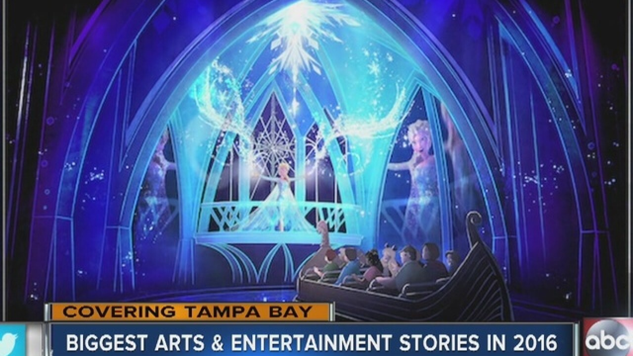 Tampa Bay arts and entertainment stories to...