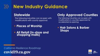 New Industry Guidance