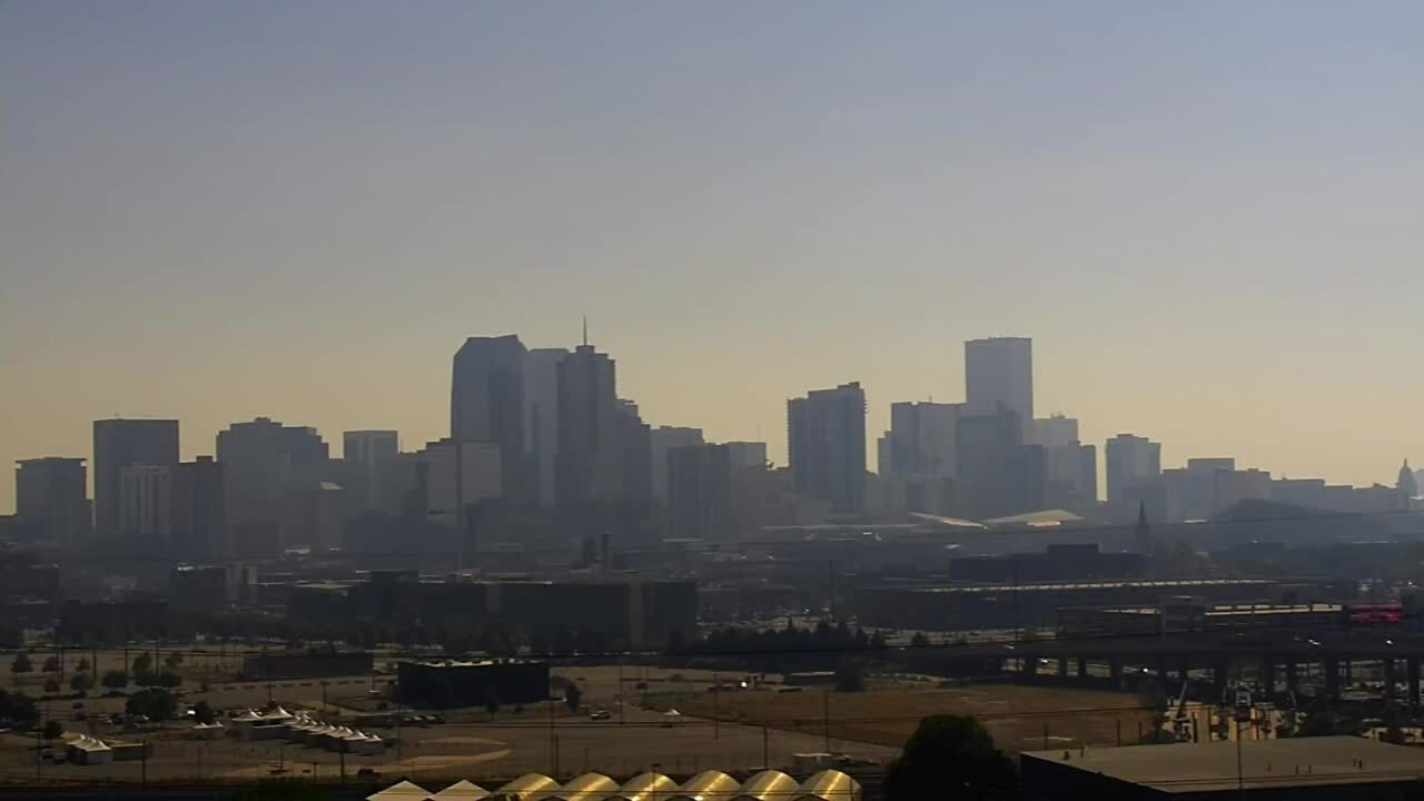 Denver smoke haze wildfires aug 14 2020