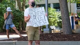 UAkron protest