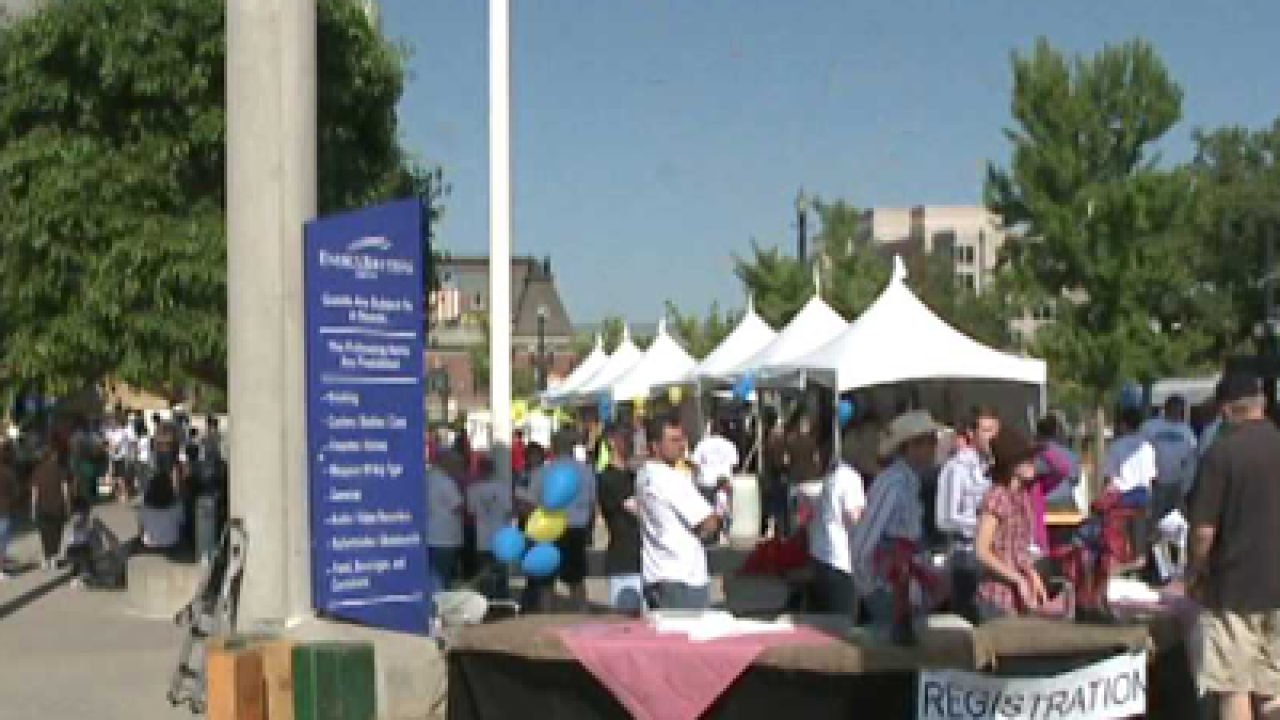Thousands walk for cystic fibrosis research
