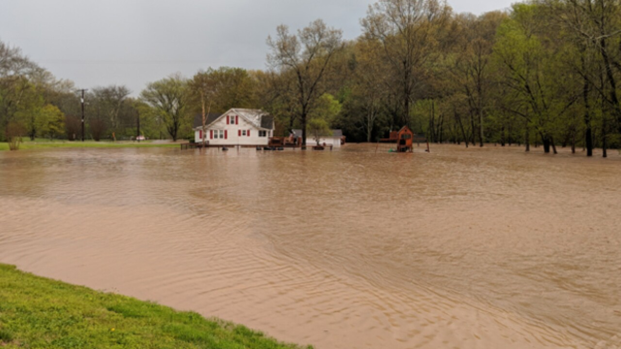 Flooding Hits Mid-State; More Rain Expected