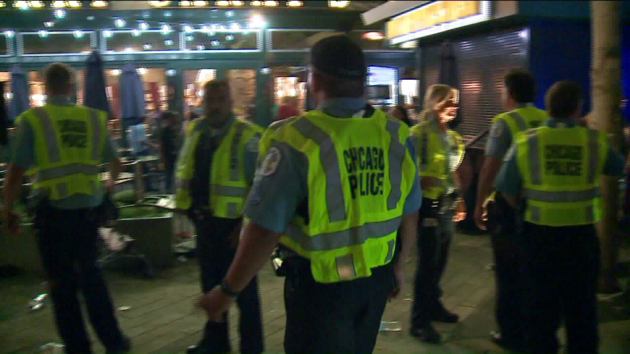 3 stabbed, several trampled outside Chicago's Navy Pier after 4th of July fireworks show
