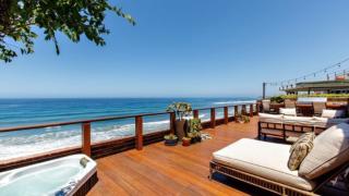 Panoramic ocean views at Solana Beach home