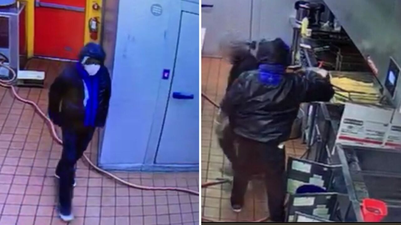 Detectives searching for man accused of robbing two Portsmouthrestaurants