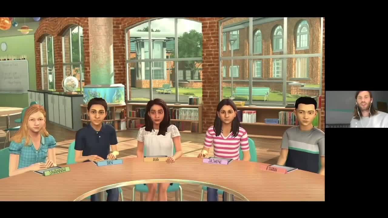 Mursion_Aurora Public Schools virtual teaching