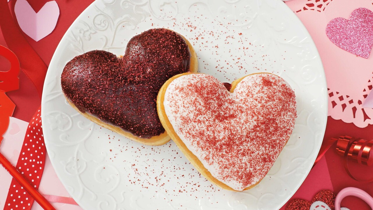 Tim Hortons offering two new Valentine's Day donuts