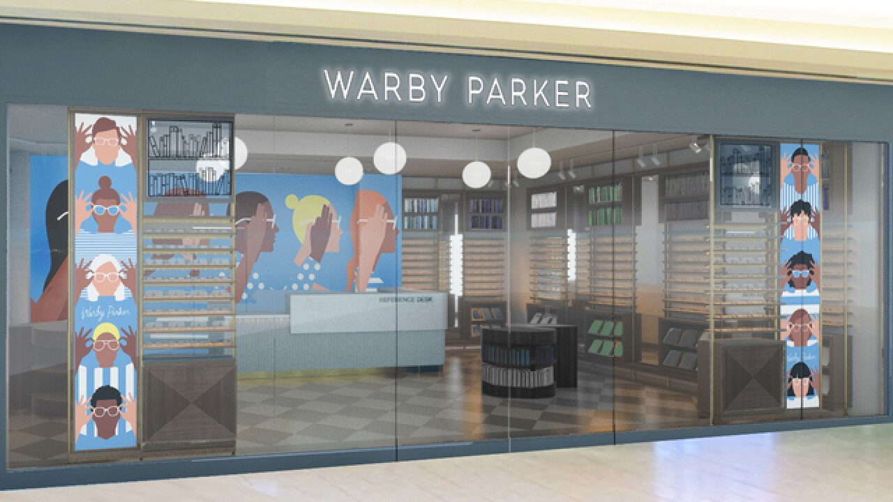 Warby Parker Cherry Creek opens April 28