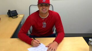 Mason High School baseball standout Nick Northcut signs with the Boston Red Sox