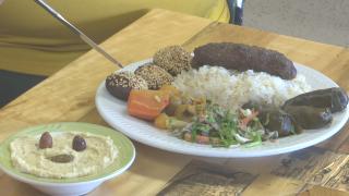 Egyptian Delights food