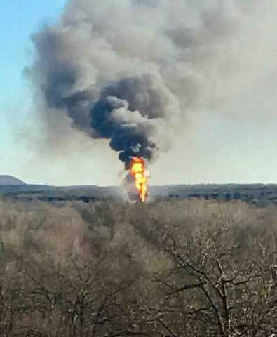 Oil rig explodes in Quinton; 5 workers missing