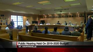St. Martinville holds public hearing on budget