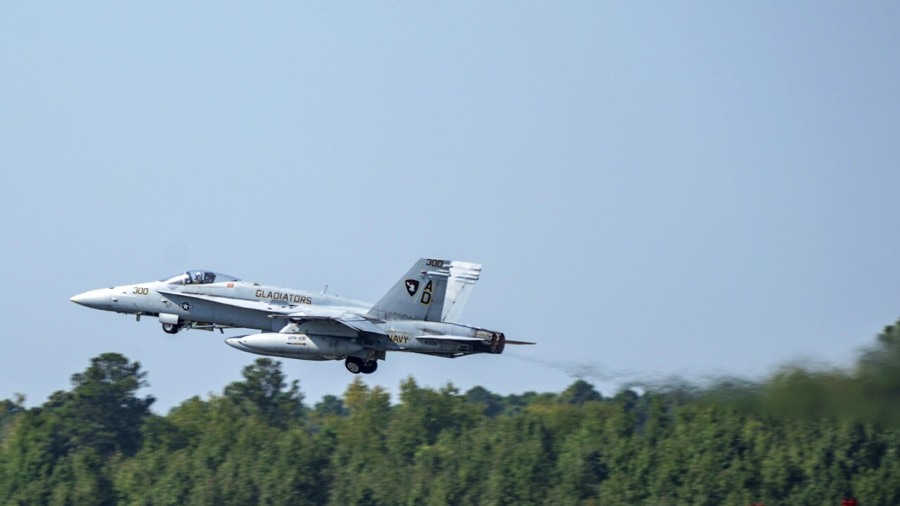 The last F/A-18C Hornet has flown into the history books from Virginia Beach