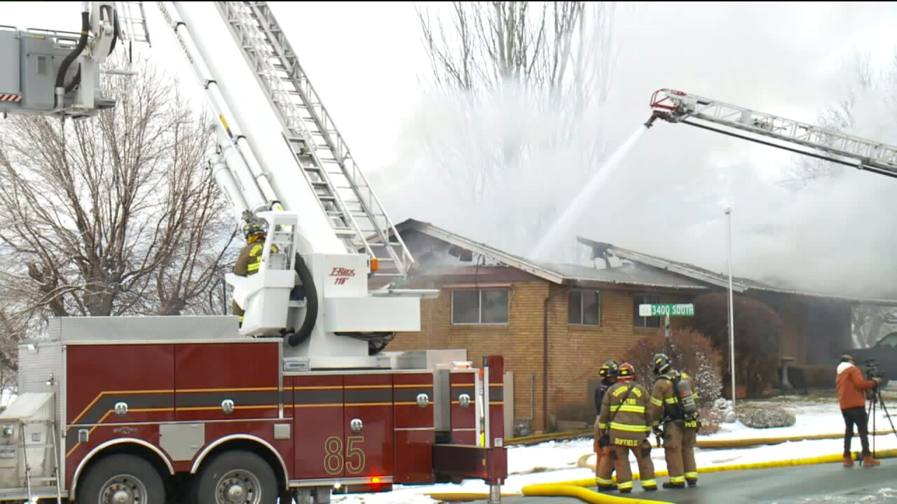 Bountiful home destroyed infire