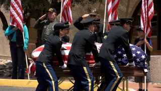 World War II veterans remains brought to Tucson