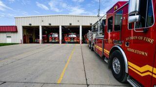 Middletown fire department fire trucks