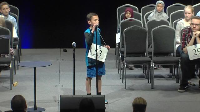 PHOTOS: Students compete in the Green Country Regional Spelling Bee at ORU's Global Learning Center