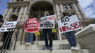 Texas Legislature Voting restriction Bills