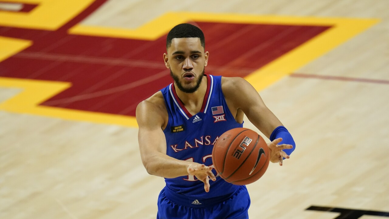 Kansas Iowa St Basketball