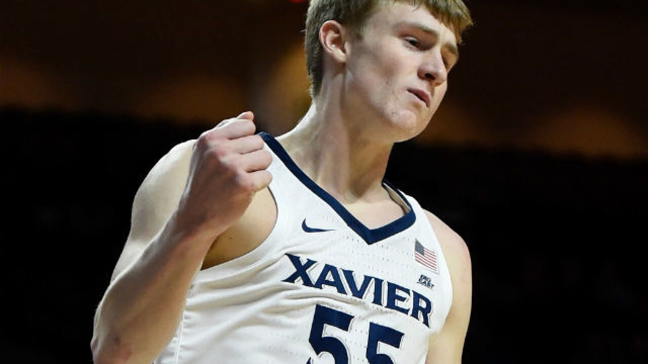 No. 6 Xavier falls behind by 16 before flipping on switch to beat DePaul