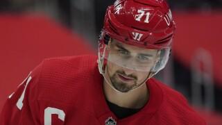 Dylan Larkin Hurricanes Red Wings Hockey