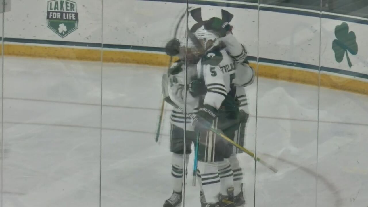 Big second period leads Mercyhurst to sweep of Air Force