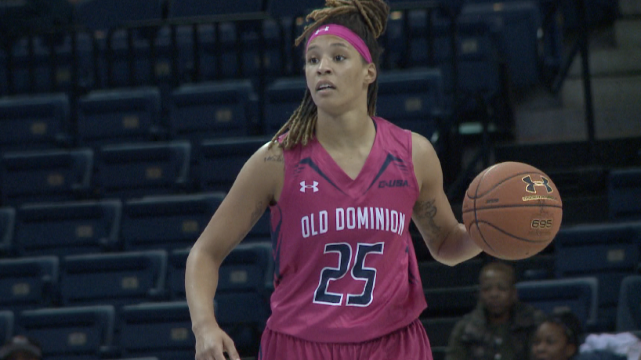 ODU's Jennie Simms selected 18th in the WNBADraft