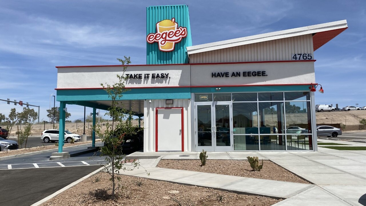 Eegee's new location at I-19 and Irvington