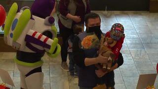 McDonald's surprises 3-year-old super fan