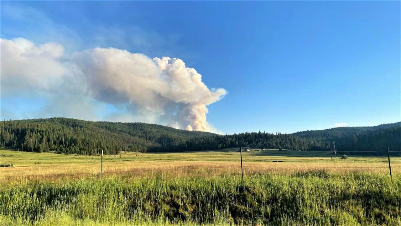 Dixie Fire/Idaho Wildfire
