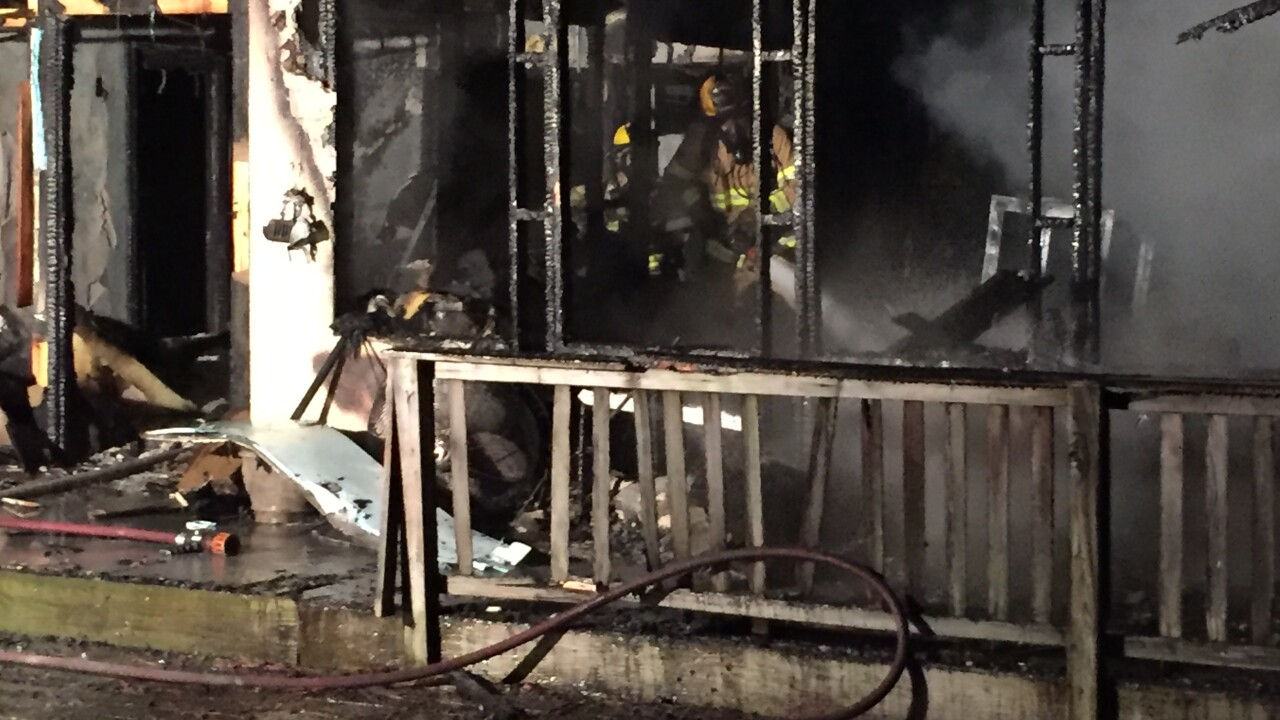 Residential fire in York County displaces 7people