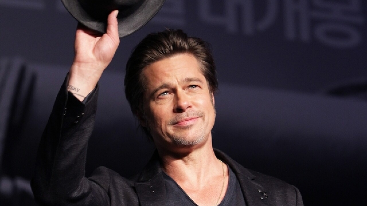 WATCH: Brad Pitt rescues young fan