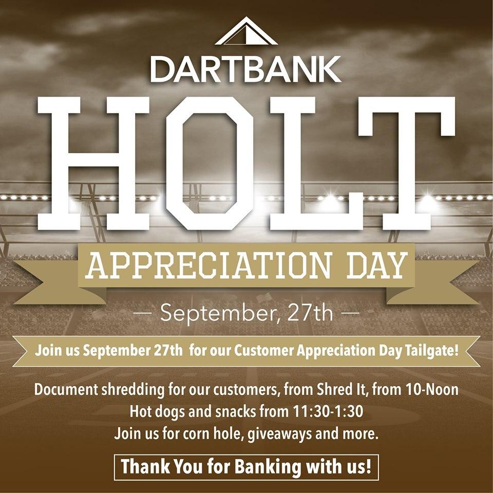 Dart Bank Holt
