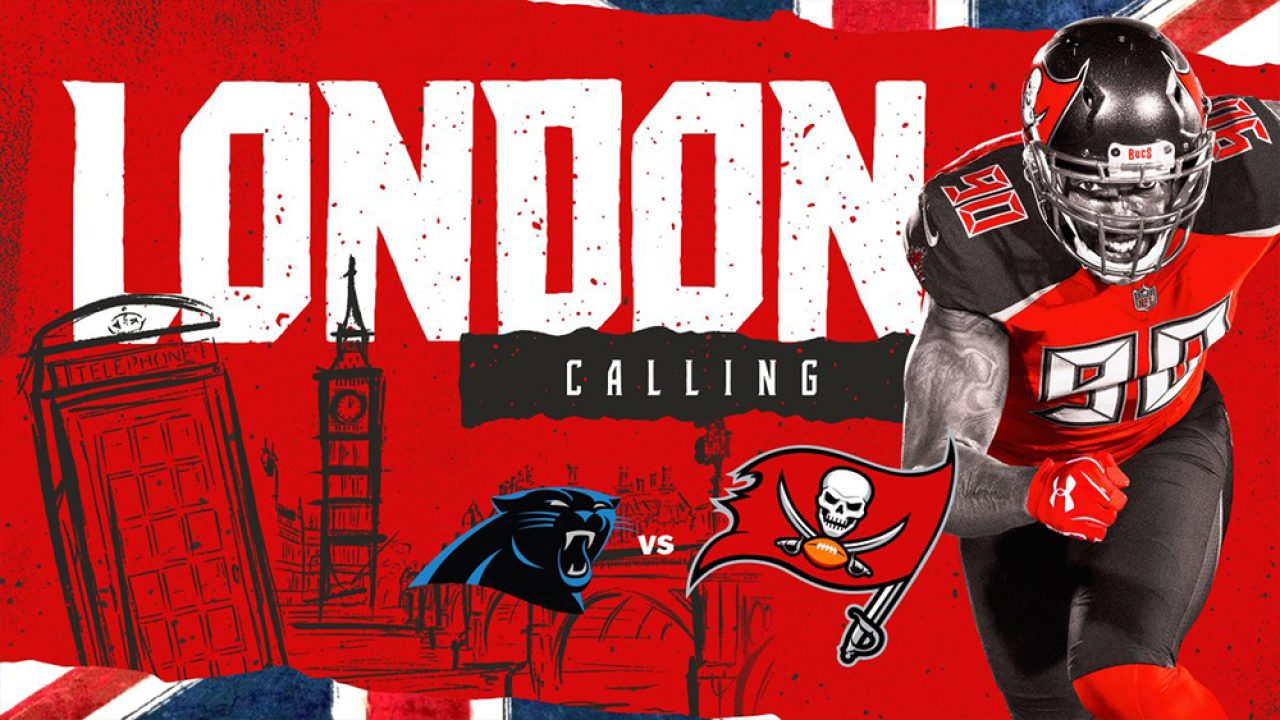 Tampa Bay Buccaneers to play Carolina Panthers in London in 2019 23e37490ee4