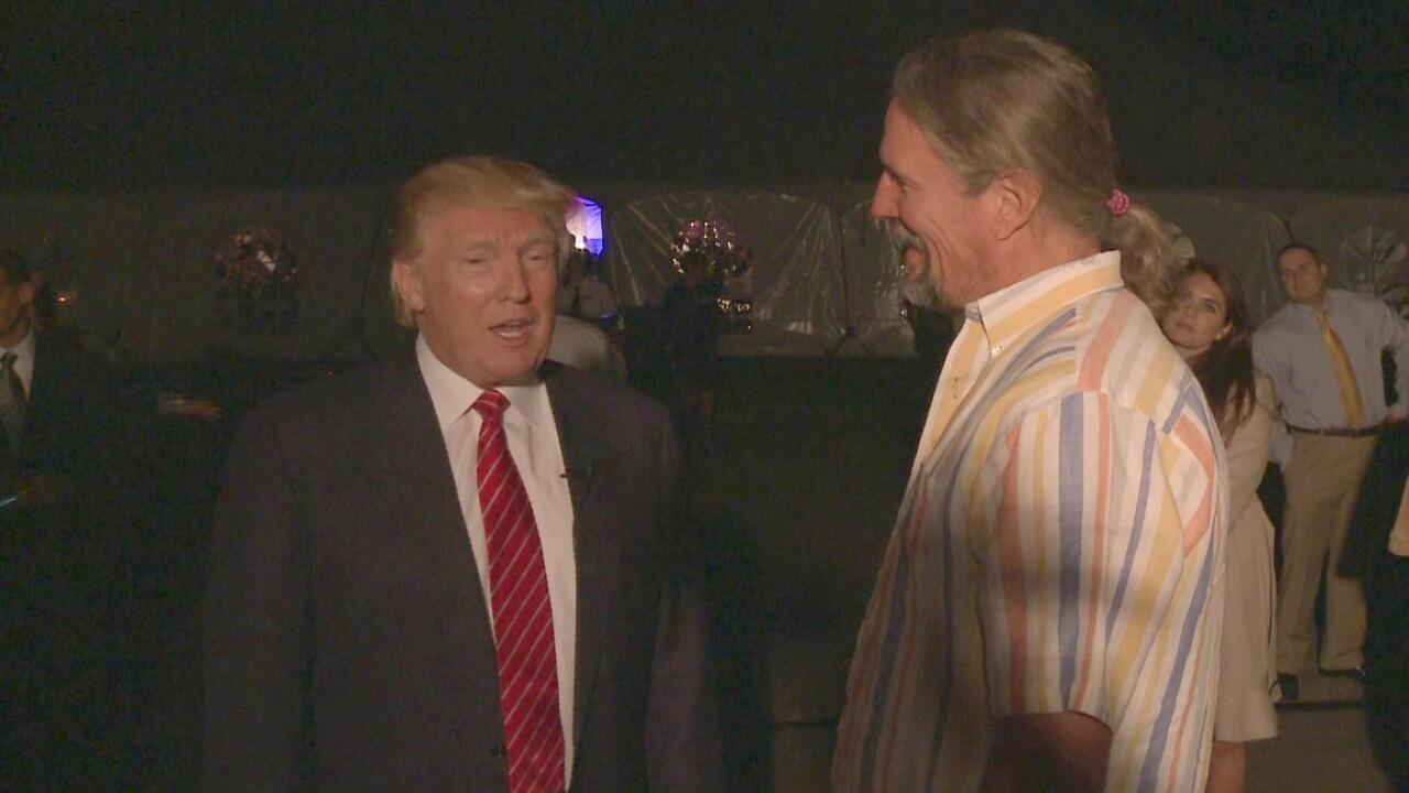 HOLMBERG: Donald Trump almost announces his presidential bid during Richmondvisit