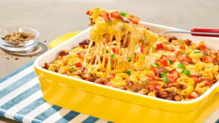 Baked Mexican Chili Pasta Is An Easy Weeknight Comfort Food