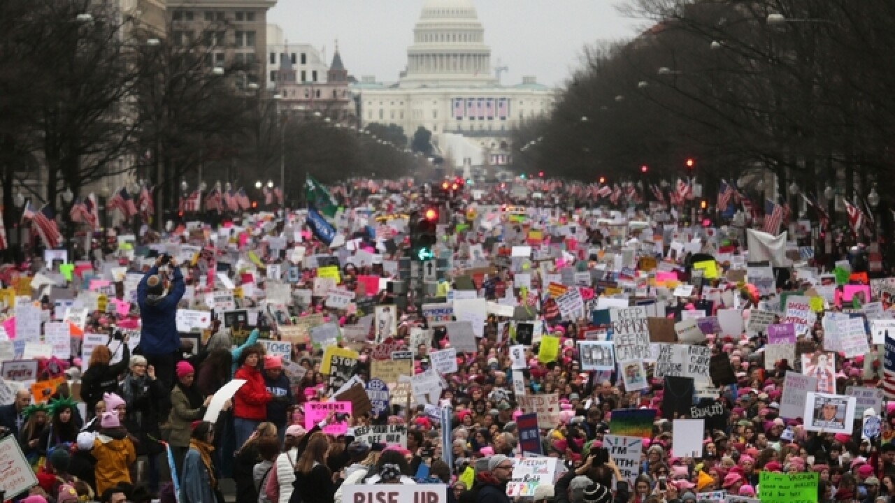 Can the women's marches become a women's movement?