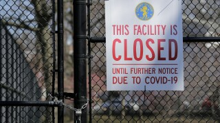 new jersey tennis court closed coronavirus
