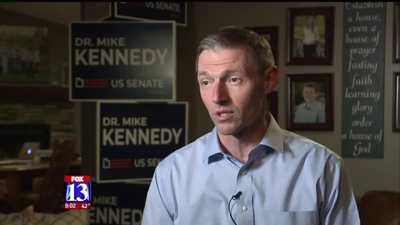 Rep. Mike Kennedy joins growing list of GOP candidates challenging MittRomney