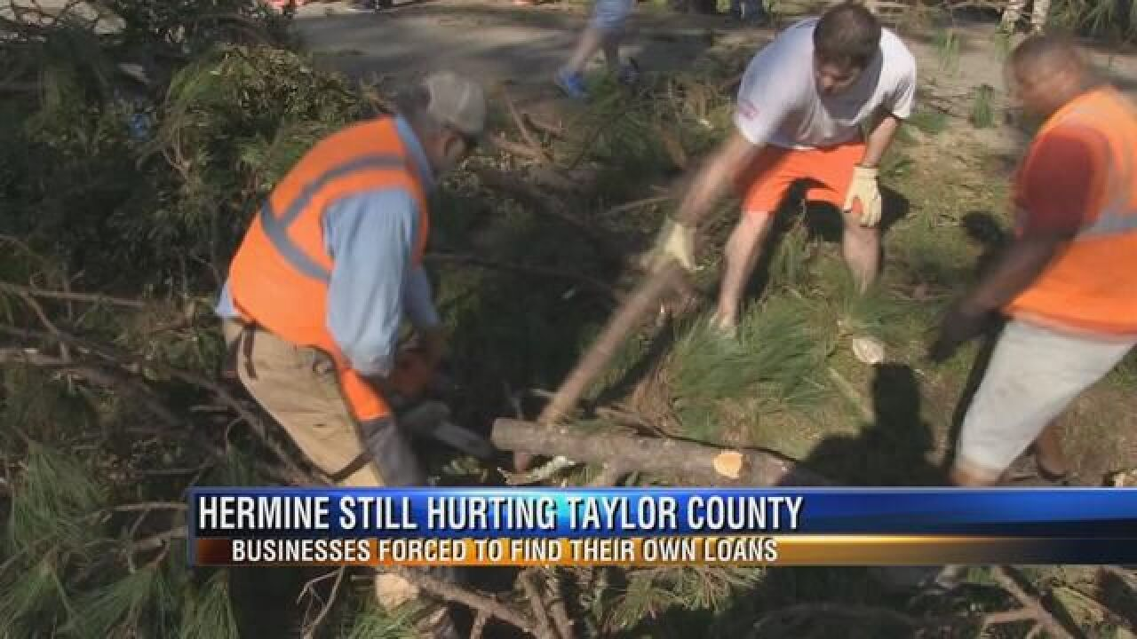 Taylor County Businesses Still Struggling After Hurricane Hermine