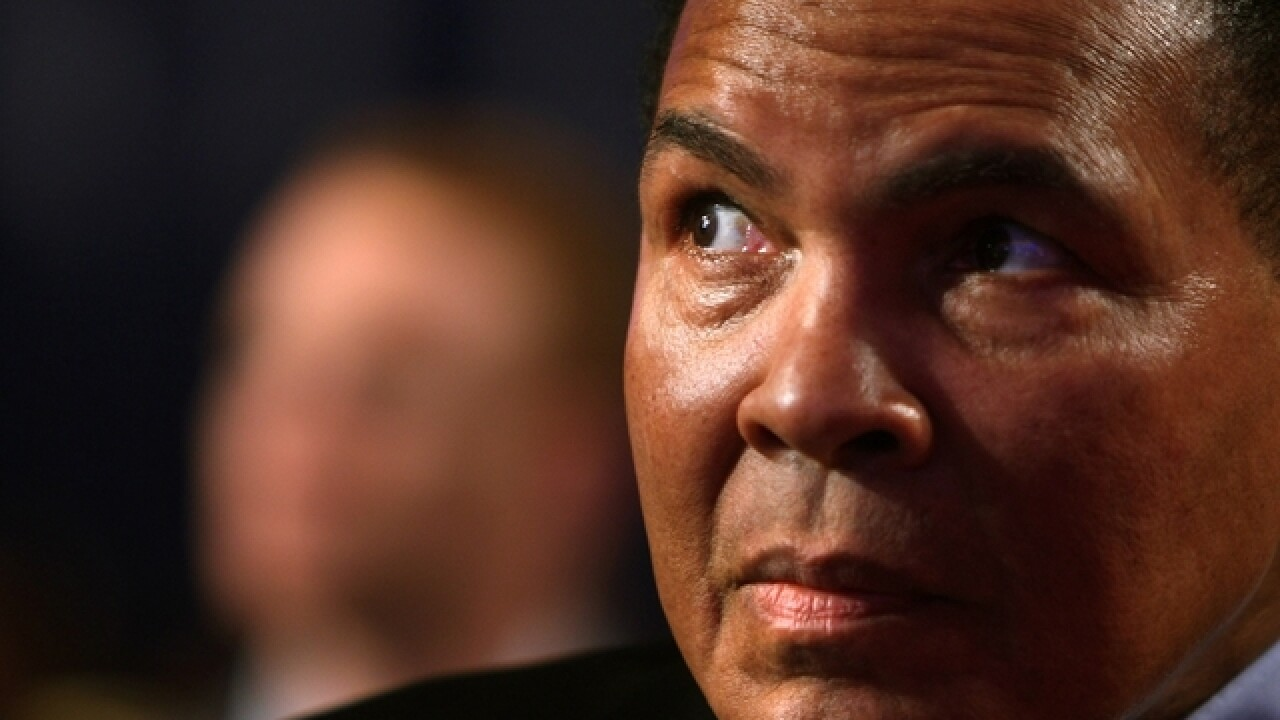 How many punches did Muhammad Ali take? New book counts them all