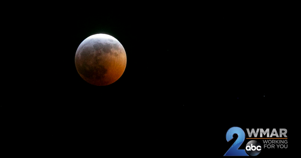Super Blood Wolf Moon shines over Baltimore