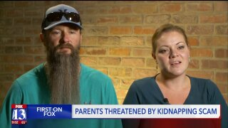 Scammer pretends to put Taylorsville couple's 'kidnapped' daughter on phone, threatens to cut offfingers
