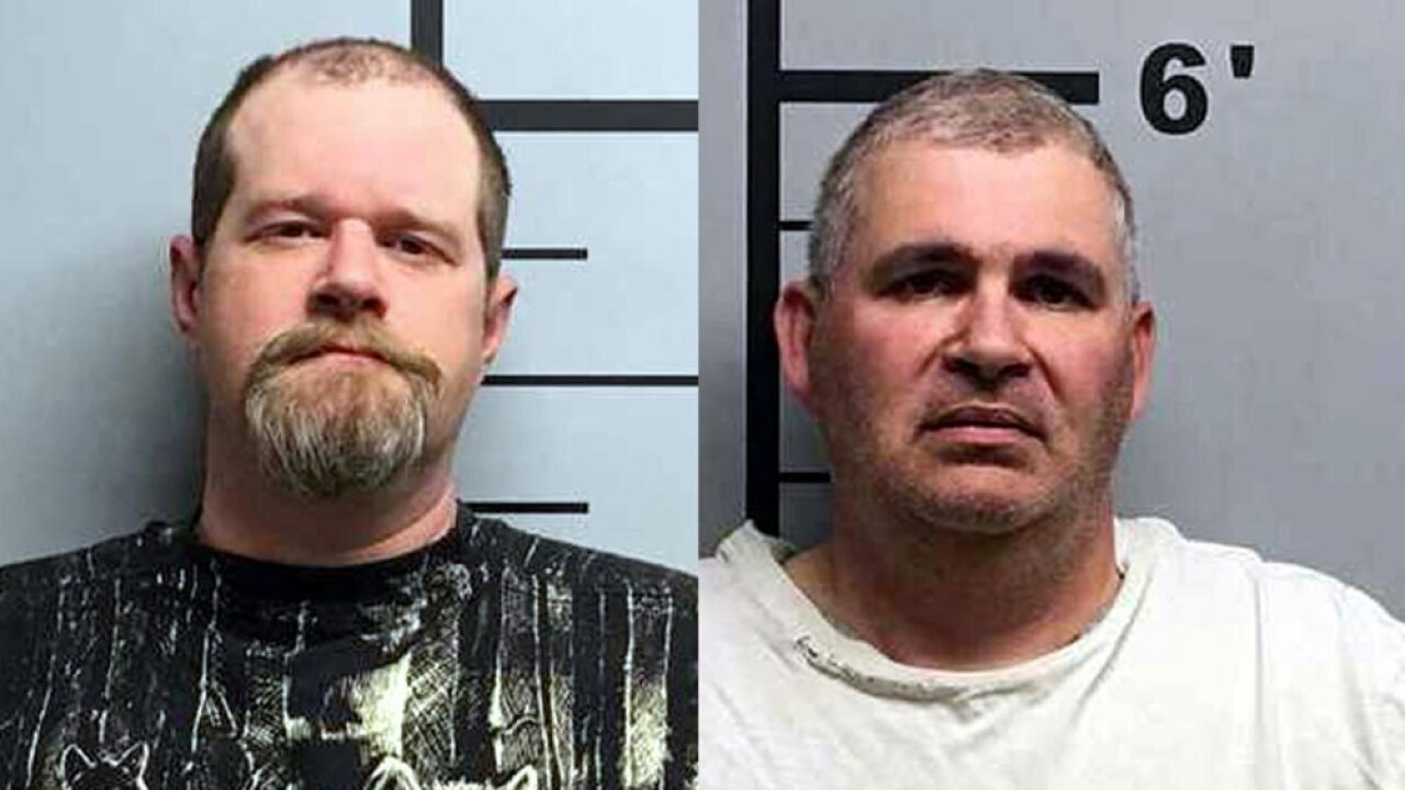 2 men arrested after shooting each other while wearing