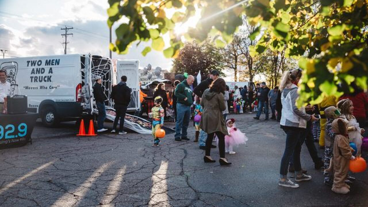 Trunk or Treat at Elevation Okemos