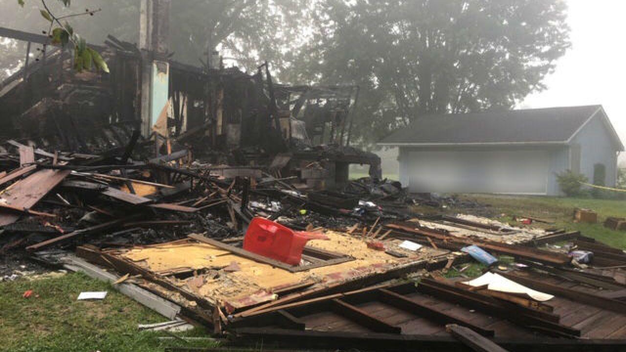 Wayne County house explosion edited