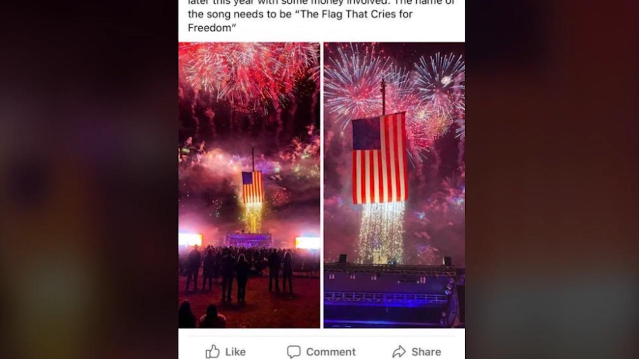 Let Freedom Ring concert Facebook post