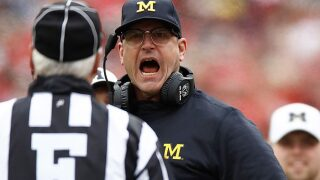 Harbaugh 'bitterly disappointed' in officiating following loss
