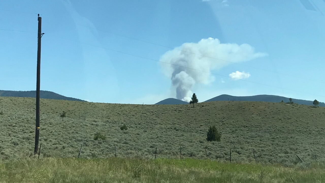 Nevada Mountain Fire 2